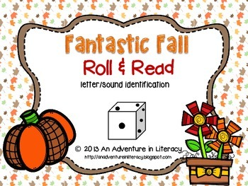 Letter Fantastic Fall Roll & Read
