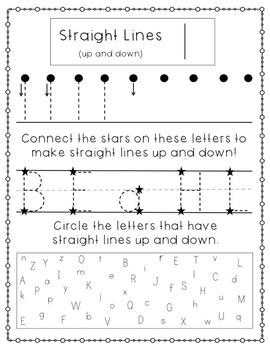 Letter Features Workbook - For Preschool & Kindergarten