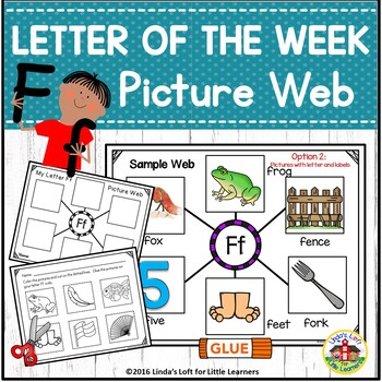 Letter Ff Beginning Sound Picture Web Activity