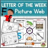 Letter Ff Letter of the Week Picture Web Activity