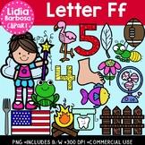 Letter Ff Digital Clipart