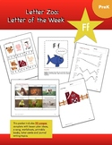 Letter Ff (F is for Farm): Letter Zoo- Preschool Curriculum