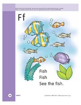 Letter Ff (Fish)