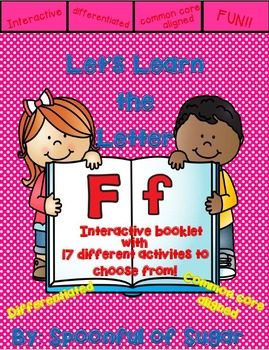 Letter Ff- Interactive Activies Booklet