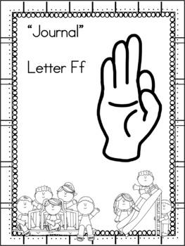 Letter Ff Journal