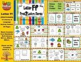Letter Ff Language & Literacy Activity Center {COMMON CORE ALIGNED}