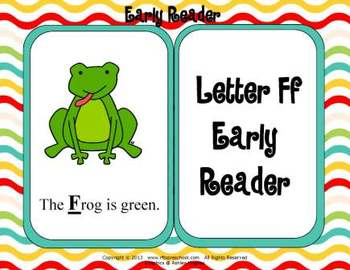 Letter Ff Language & Literacy Activity Center {COMMON CORE ALIGNED}
