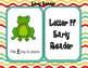 Letter Ff Language & Literacy Activity Center {COMMON CORE