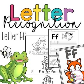 Ff Letter Recognition Worksheets