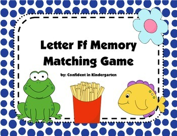 Letter Ff Memory Game