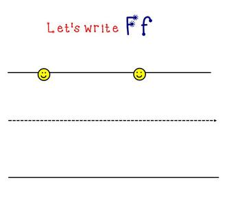 Letter Ff Smartboard Activity