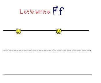 Letter Ff Smartboard Activity
