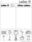 Letter Ff Beginning Sound Sort/Phonemic Awareness