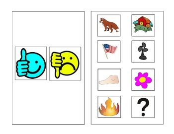 Letter Ff Vocabulary Book (interactive, great for preK, K, ppcd & interactive!)