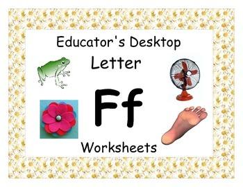 Letter Ff- Worksheets
