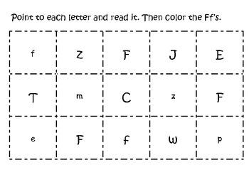 Letter Ff pack