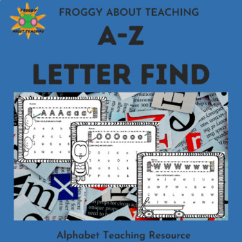 Letter Find for PreK,  Kinder and 1st Grade