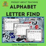 Letter Find for PreK,  Kinder and 1st Grade