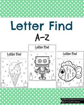 Letter Find A-Z