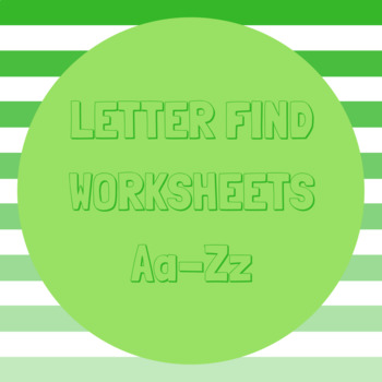 Letter Find A-Z