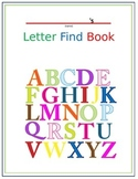 Letter Find Book Ready to Print