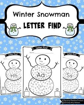 Letter Find - Growing Bundle