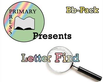Letter Find: Letter B Pack