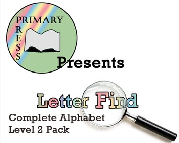Letter Find Level Two Pack