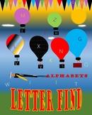 Letter Find Poster 16 x 20