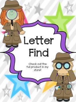 Letter Find Sample