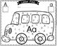 Letter Find - School Bus Theme