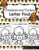 Letter Find - Thanksgiving Turkey