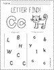 Letter Find (Uppercase and Lowercase)