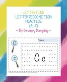 Letter Find Worksheets - Letter Recognition Practice {A-Z}