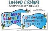 Letter Fishing Mats