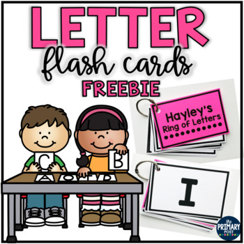 FREE Letter Flash Cards