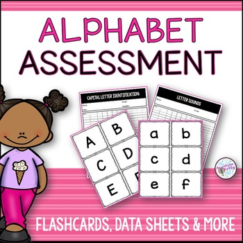 Alphabet Letter Identification Flashcards and More!