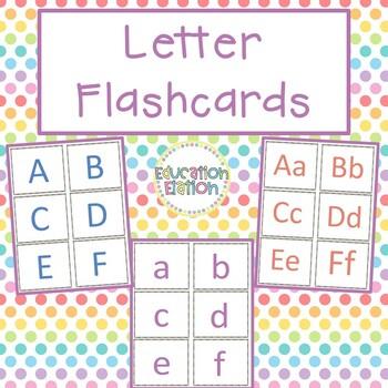 Letter Flashcards