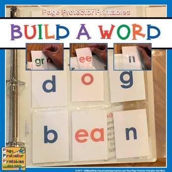 Build A Word: Work Work Activities