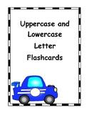 Letter Flashcards Car Theme