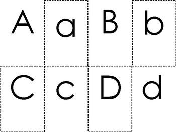 Letter Flashcards English & Spanish