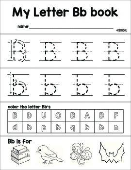 Letter Flip Books
