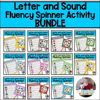 Letter Recognition and Letter Fluency- Growing Bundle