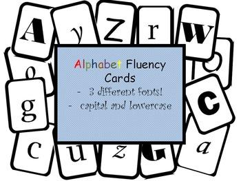 Letter Fluency Cards