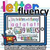 Letter Fluency Digital Interactive Slides