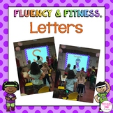 Letters Fluency & Fitness Brain Breaks Bundle