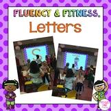 Alphabet Letter Fluency & Fitness® Brain Breaks - distance learning