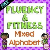 FREE Letter Fluency & Fitness