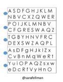 Letter Fluency Flip Cards