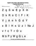 Letter Fluency Progress Monitoring